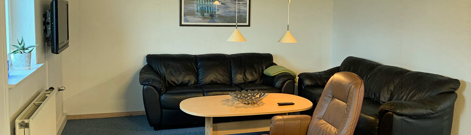 Common living room at Thyborøn Campsite