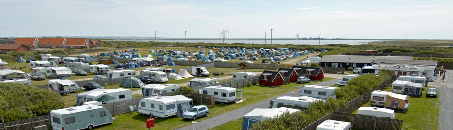 Thyborøn Campingsite from above